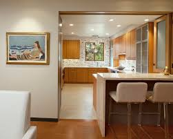 Kitchen With Bar Table - flooring designs elegant open kitchen floor plans for your bar