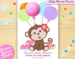 monkey baby shower theme monkey baby shower etsy