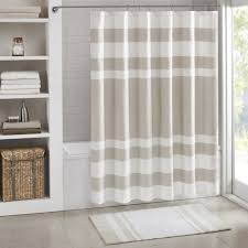 White Fluffy Bathroom Rugs Amazon Com Madison Park Spa Reversible Cotton Bath Rug Grey