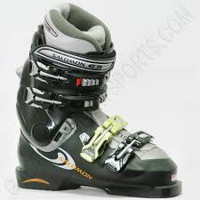 womens boots used salomon evolution 7 9 womens ski boots