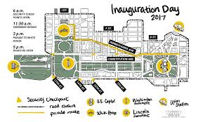Washington Square Mall Map Inauguration Weekend 2017 What You Need To Know Wamu
