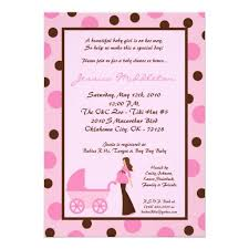 Modern Mommy Baby Shower Theme - 22 best pink and brown polka dot baby shower invitations images on