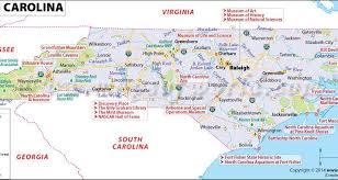 map usa buy map usa carolina major tourist attractions maps