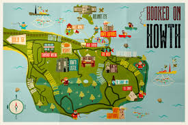 Dart Map Things To Do In Howth Visit Dublin