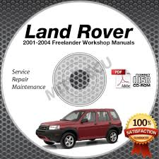 land rover freelander 2002 pdf 2002 land rover freelander repair manuals 28 pages land
