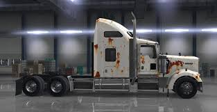 ken worth kenworth w900 rusted skin matching interior pack american