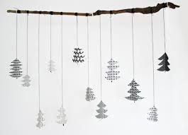 3d paper tree mobile by project papercraft