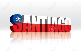 Texas Flag And Chile Flag 3d Vector Santiago Chile Word Text Flag Royalty Free Cliparts
