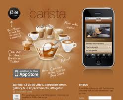 cool app websites barista app design web mobile ui ux pinterest barista app
