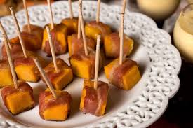bacon wrapped squash bites recipe chowhound