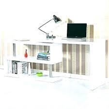 Home Office Desk Storage Office Desk With Shelves Atken Me