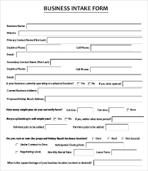 Counseling Intake Form Intake Form Template 10 Free Pdf Documents Free
