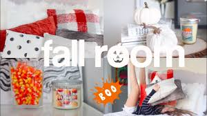 how to decorate your room for fall diy fall room decor youtube