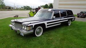 hearse for sale 1974 cadillac fleetwood hearse for sale near mundelein illinois