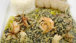 bonne cuisine camerounaise ndolè viande morue et crevettes recette par tchop afrik a cuisine