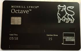 Merrill Business Cards Merrill Lynch Credit Card U0027octave Premium U0027 Review Doctor Of Credit