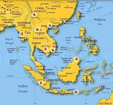 map asie index of map