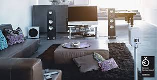 Inbuilt Tv Cabinets Contemporary Tv Cabinet With Built In Speaker Glass Brick