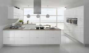 Gloss White Kitchen Cabinets Best 25 Modern White Kitchens Ideas Only On Pinterest White