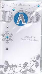 handmade wonderful dad christmas card karenza paperie