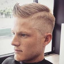 hair cut for men shaved on sides slicked back on top shaved side hairstyles men mens hairstyles 2018