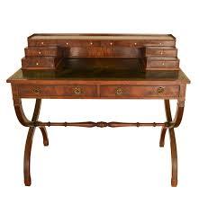 1940s Desk 1940s Reproduction Georgian Desk By Frederick Tibbenham Ebth