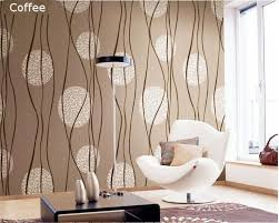 Wallpapers Home Decor European Simple Circle 3d Pvc Waterproof Embossed Wallpaper
