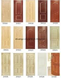 Soundproof Interior Door Solid Wood Door China Solid Soundproof Hotel Wooden