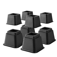 Tall Bed Risers Extra High Bed Riser Amazon Com