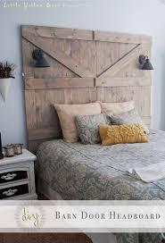 Bed Headboard Lamp by Diy Barn Door Headboard Less Than 200 Hundred Dollars To Make I
