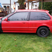 honda civic 91 hatchback parts 1991 honda civic base hatchback 3 door 1 5l parts project car