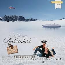 Alaska travel photo album images Disney cruise custom album cover capturing magical memories jpg