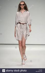 ann sofie back london ready to wear spring summer beige shirt