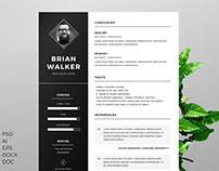 Copywriter Resume Template Copywriting Projects On Behance