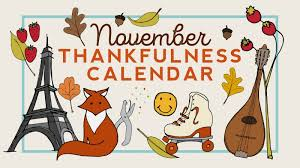 free nov 2017 thanksgiving thankfulness calendar for teachers