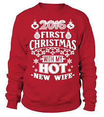christmas with new wife gift idea shirt image mother