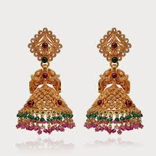 gold jhumka earrings design gold jhumka earring designs hd wallpaper all 4u wallpaper