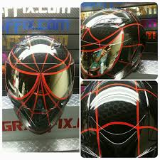 motorcycle gear spiderman motorcycle helmets