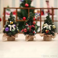 2017 sale new style pvc christmas decoration mini tree perfect