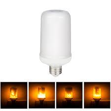 led flame effect fire light bulbs e27 e26 3528 led flame effect fire light bulb 7w creative led light
