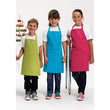 tablier de cuisine enfant personnalisé tablier de cuisinier enfant flocké ou brodé lisasys