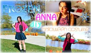 Anna Halloween Costume Diy Anna Frozen Halloween Costume