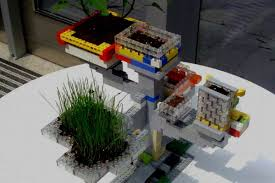 build your own planters with legos garden culture magazine