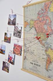Diy World Map by Best 20 Travel Decorations Diy Ideas On Pinterest U2014no Signup