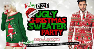 The Ugly Christmas Sweater Party - 5th annual ugly christmas sweater party toy drive in dallas at