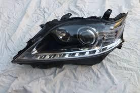 lexus xenon headlights lexus rx350 rx450h left driver side hid xenon headlight bare 81170