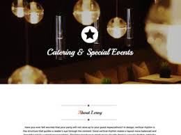free cafe or restaurant website templates 37 free css