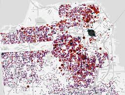 san francisco eviction map the of the city boom california