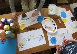 st patrick u0027s day rainbow craft teach beside me