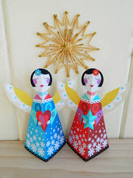 ellen giggenbach printable christmas angels craft